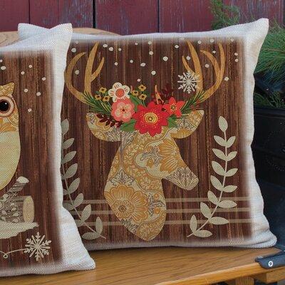 Alpine Lodge Throw Pillow