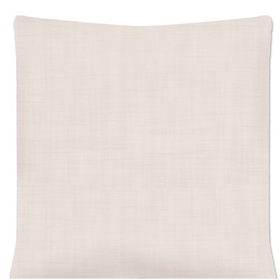 Jemuel Woven Pillow Cover Color: Oyster
