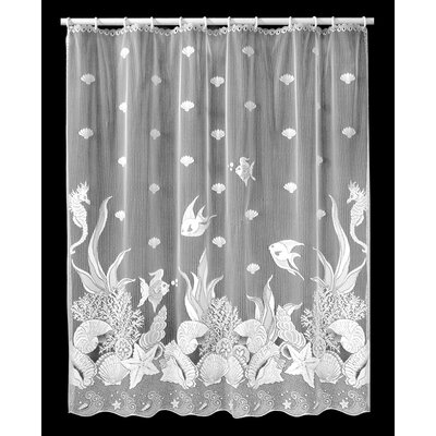 Buy Low Price Heritage Lace Seascape Shower Curtain Shower Curtain Mall