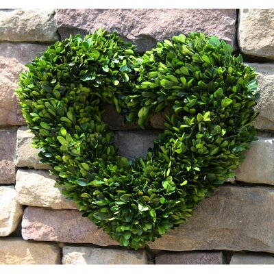 Boxwood Single Side Heart