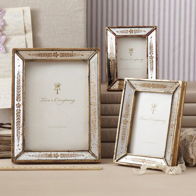 3 Piece Verona Leaf Mirror Picture Frame Set 7825