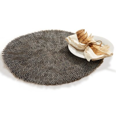 Millstone Guinea Fowl Feather Placemat LNPK6371 38872579