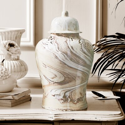 Temple Decorative Urn with Lid ROHE1447 38872659