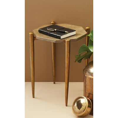 1950s Shagreen End Table