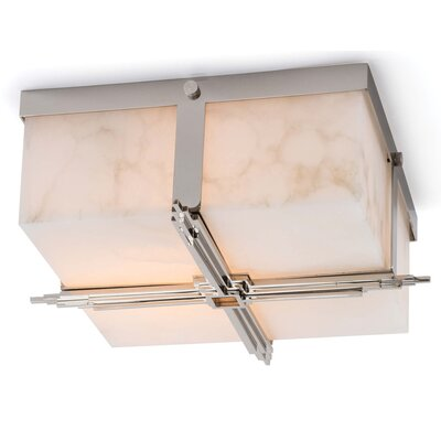 Gotham Flush Mount Color: Polished Nickel