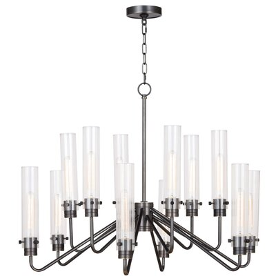 Neo Candle-Style Chandelier Color: Oil Rubbed Bronze