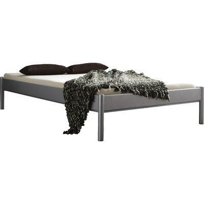 Metallbett Simone | Schlafzimmer > Betten > Metallbetten | Blacksilvergray | Metall | Dico Moebel