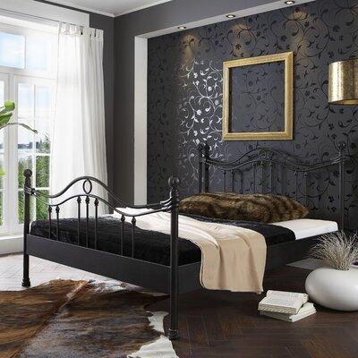 Metallbett Ancona | Schlafzimmer > Betten > Metallbetten | Blackwhite | Metall | Dico Moebel