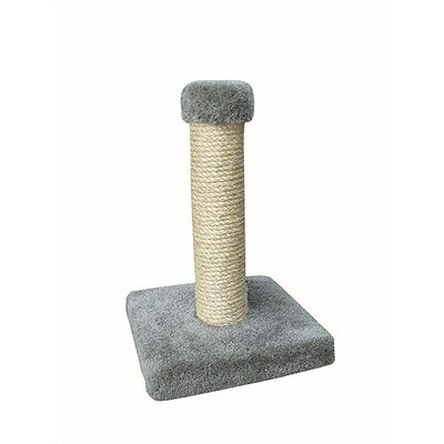 Sisal Scratching Post Carpet Color: Medium Grey