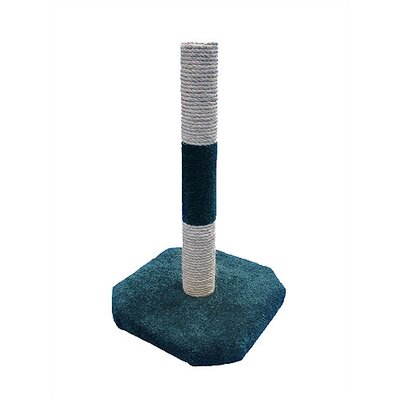 Tall Sisal Scratching Post Color: Medium Blue