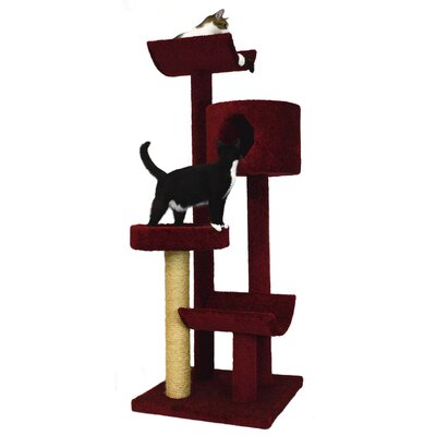 66 Condo, Bed and Cradles Cat Tree