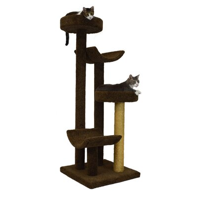 66 Bed and Cradle Cat Tree