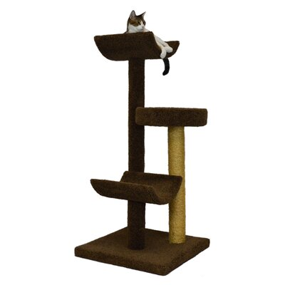 54 Bed and Cradle Cat Tree