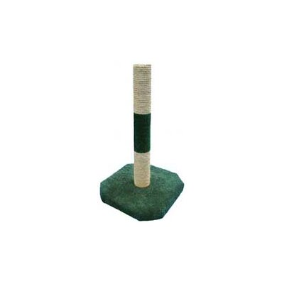 Tall Sisal Scratching Post Color: Hunter Green