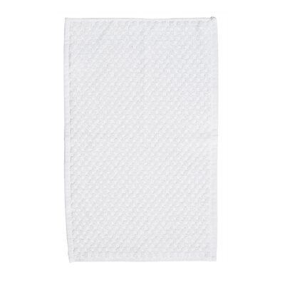 Turkish Cotton Hand Towel Color: White