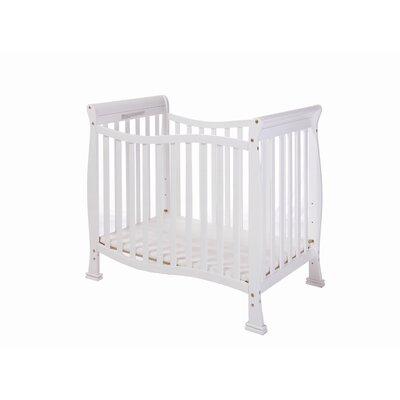 Dream On Me Violet 4 in 1 Mini Convertible Crib - Finish: White