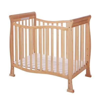 Violet 4 in 1 Mini Convertible Crib Finish: Natural 631-N