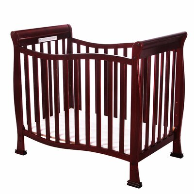 Violet 4 in 1 Mini Convertible Crib Finish: Cherry 631-C