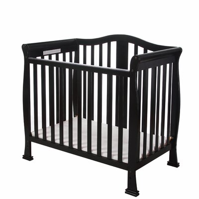 Addison 4 in 1 Mini Convertible Crib Finish: Black 633-K