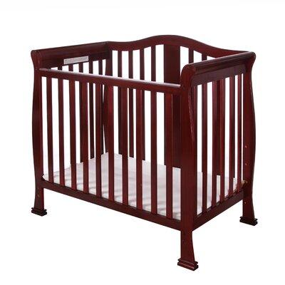 Addison 4 in 1 Mini Convertible Crib Finish: Cherry 633-C