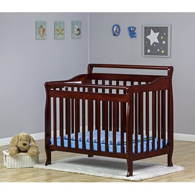 Portable Convertible Crib Finish: Cherry 626-C