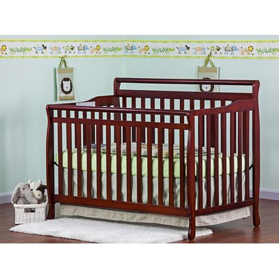 Dream On Me 4-in-1 Liberty Convertible Crib, Cherry