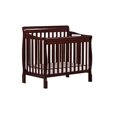Aden Mini Convertible Crib Finish: Cherry 628-C