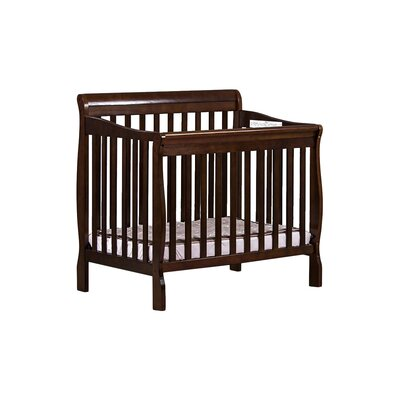 Aden Mini Convertible Crib Finish: Espresso 628-E