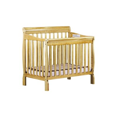 Aden Mini Convertible Crib Finish: Natural 628-N
