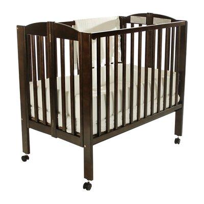 Portable Folding Convertible Crib Finish: Espresso 682-E