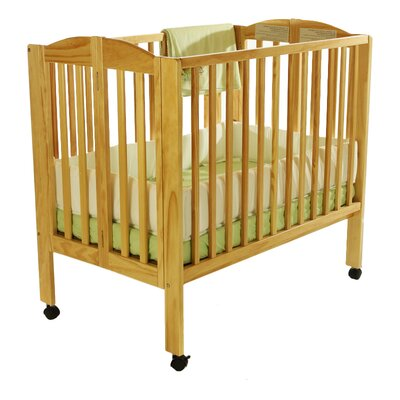 Portable Folding Convertible Crib Finish: Natural 682-N