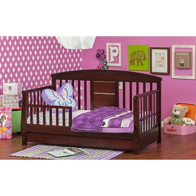 Deluxe Toddler Daybed with Storage Finish: Cherry