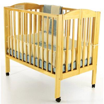 Portable Folding Convertible Crib Finish: Natural 683-N