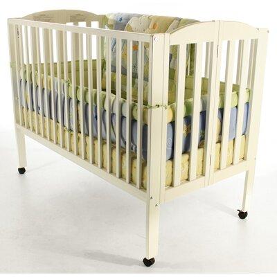 Full Size Folding Crib Finish: White 673-W