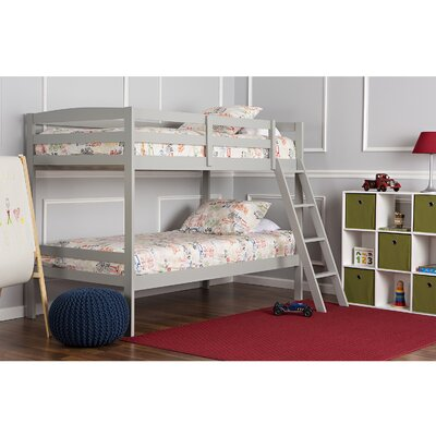 Taylor Twin Bunk Bed Finish: Gray