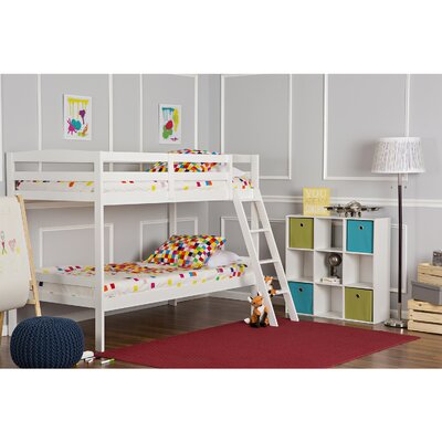 Taylor Twin Bunk Bed Finish: White