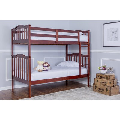 Cody 2-in-1 Twin Bunk Bed Finish: Mahogany