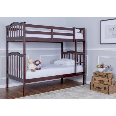 Cody 2-in-1 Twin Bunk Bed Finish: Espresso