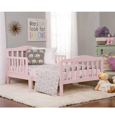 Classic Toddler Bed Finish: Blush Pink