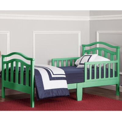 Dream on Me Elora Toddler Bed Bed Frame Color: Emerald