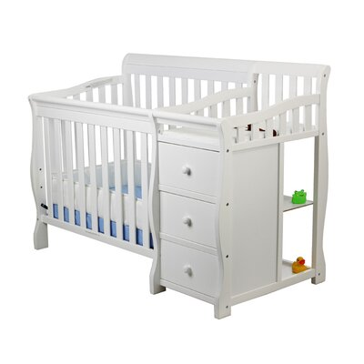 Dream On Me Jayden Portable Convertible Crib and Changer - Finish: White at Sears.com