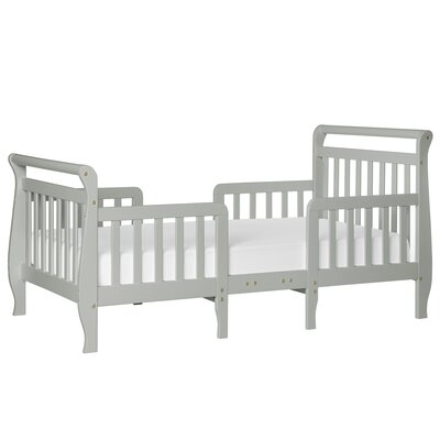 Emma Toddler Bed Bed Frame Color: Steel Gray