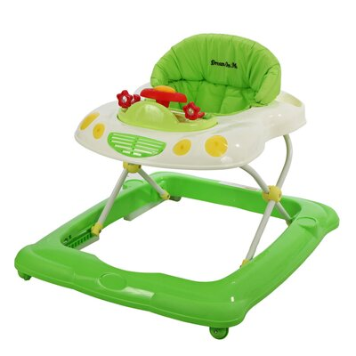 Dream On Me Melody Musical Baby Walker - Color: Green