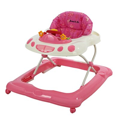 Dream On Me Melody Musical Baby Walker - Color: Pink