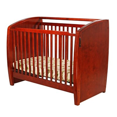 Dream On Me Electronic, Wonder Crib, 3 in 1 Convertible, Cherry