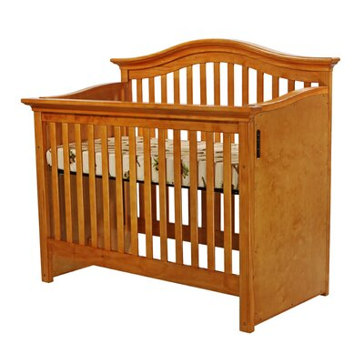 Dream On Me Electronic, Wonder Crib II, 4 in 1 Convertible, Natural