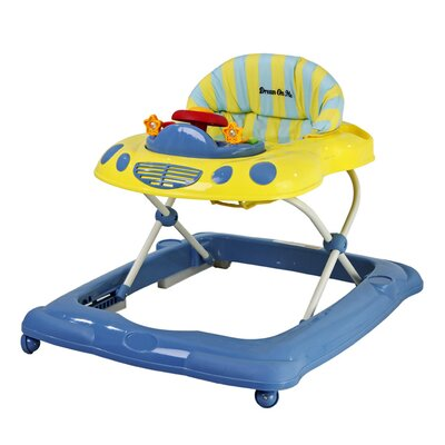 Dream On Me Melody Musical Baby Walker - Color: Blue / Yellow