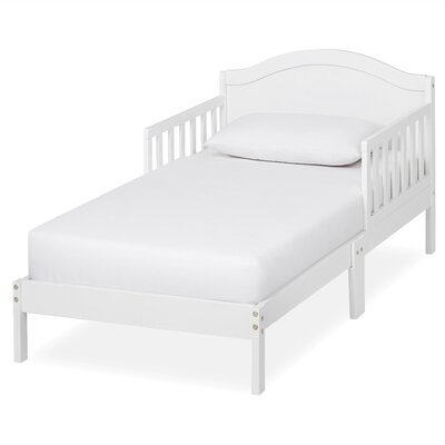 Sydney Convertible Toddler Bed Bed Frame Color: White