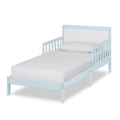 Brookside Toddler Platform Bed Bed Frame Color: Sky Blue/White