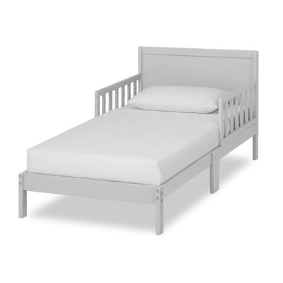 Brookside Toddler Platform Bed Bed Frame Color: Pebble Gray